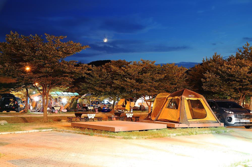 송지호 오토 캠핑장