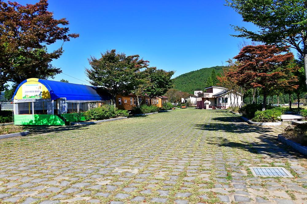 고포수변공원 캠핑장