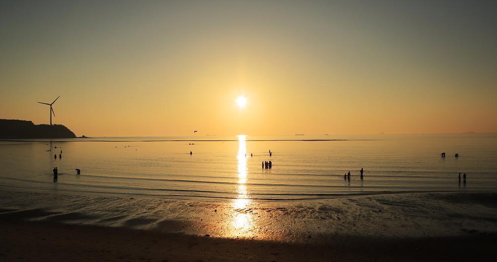 장경리해변 야영장